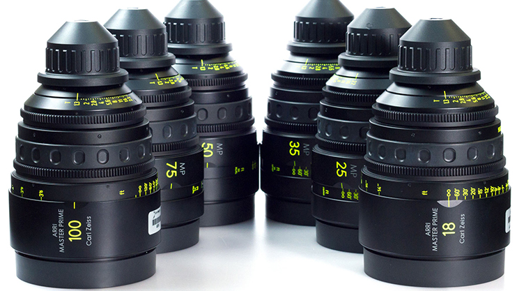 Real Cinema Lenses: Zeiss Master Prime Set