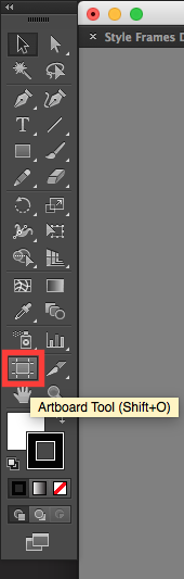 Adobe Illustrator: The Artboard Tool