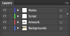 Adobe Illustrator: Splitting the file into layers