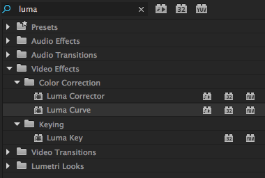 Vignettes in Premiere Pro: The Luma Curve Effect