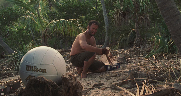Films With Minimal Dialogue: Cast Away