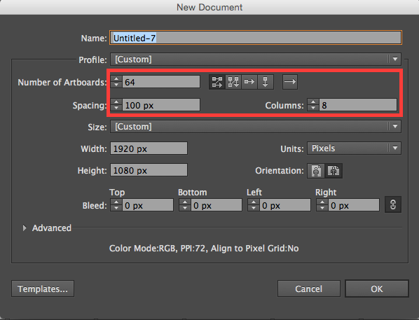Adobe Illustrator: Creating Multiple Artboards Automatically