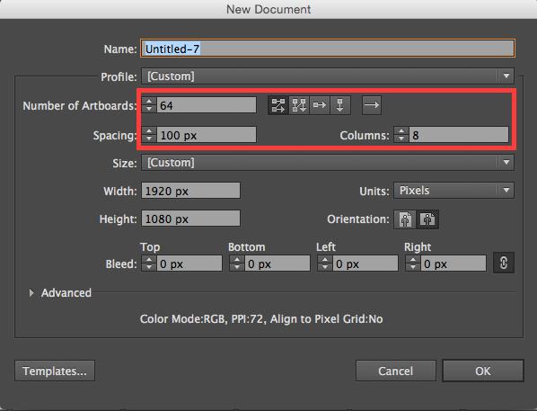 Adobe Illustrator: Creating Multiple Artboards Automatically