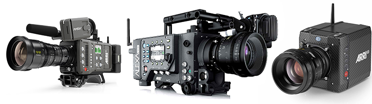 best options for high frame rate filmmaking arri