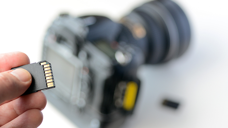 5 Tips for Traveling Filmmakers: Camera Storage SD Card