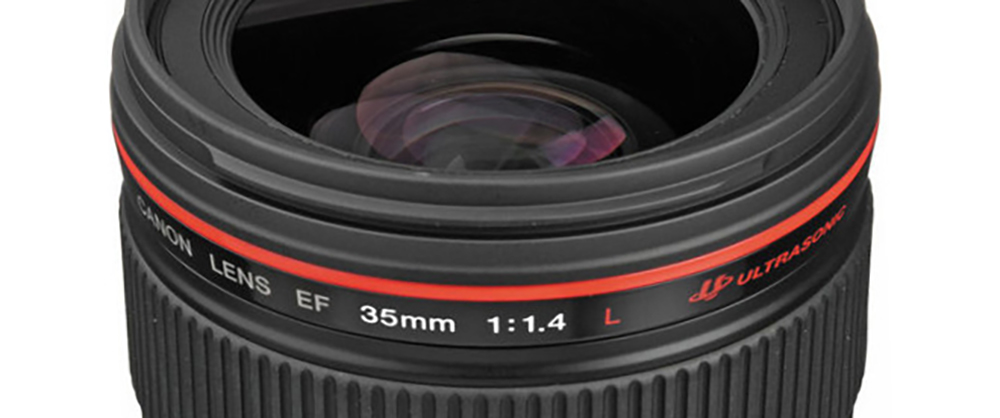 filmmaking articles: Canon 35 Lens