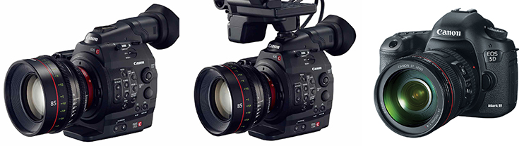 best options for high frame rate filmmaking canon