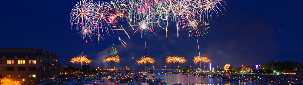 Can You Legally Fly A Drone Through A Fireworks Show? No. You can't.