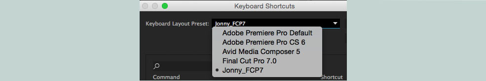 Print Your Own Premiere Pro Keyboard Shortcuts