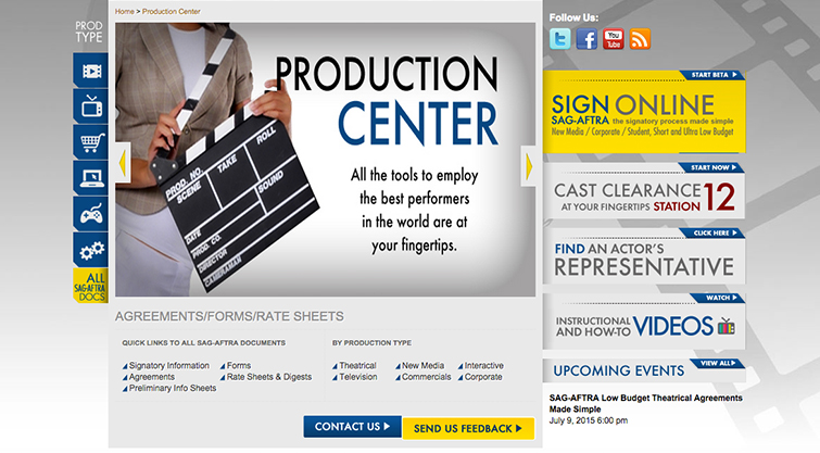 6 Tips for Casting SAG Actors in Your Next Production: SAG Production Center