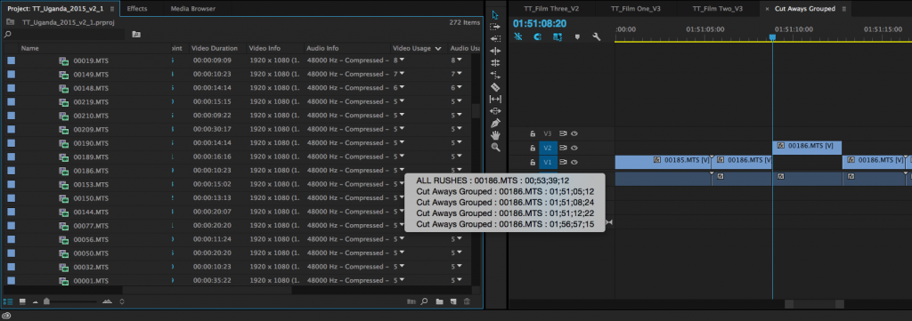 How to Find Where You Used a Clip in Premiere Pro: Example