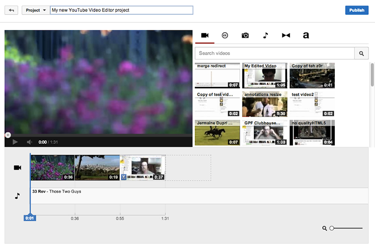 Is Online Video Editing the Future? Youtube Editor