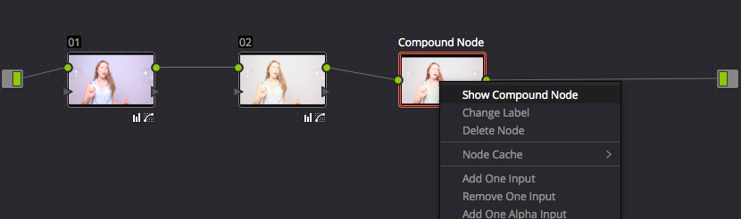 4. Show Compound Node