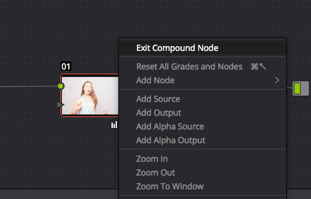5. Exit Compound Node