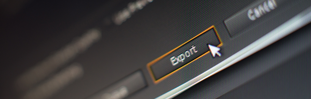 10 Questions to Ask When Buying A Filmmaking Camera: Export Button Example