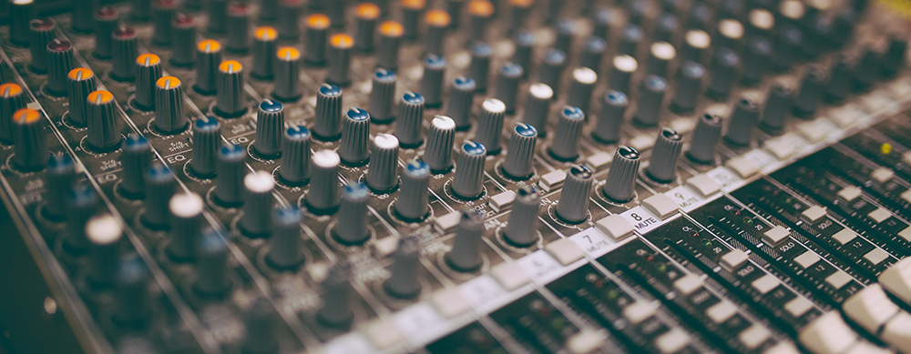 14 Tips for Shooting Live Stage Events: Mixing board