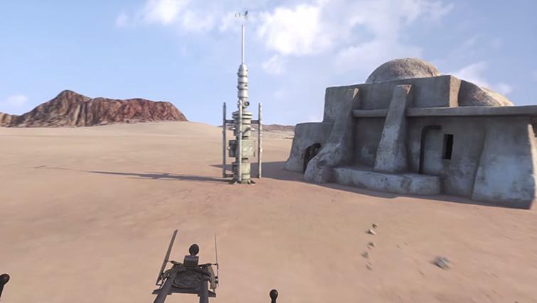 Star Wars VR Set