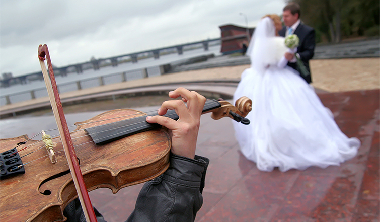 How to Find the Right Music for Wedding Videos: lyrics vs instrumental