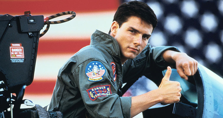 top gun depth of field
