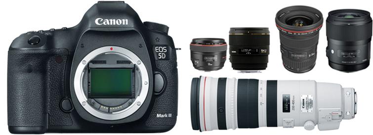 Shooting Wedding Videos: 5diii lens