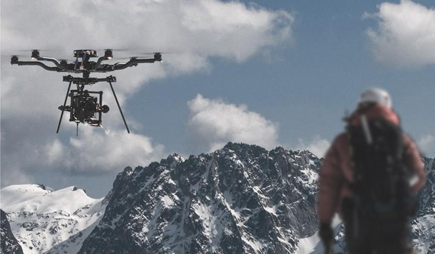Alta Mountains Drone Footage