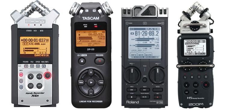 Shooting Wedding Videos: Audio Recorder