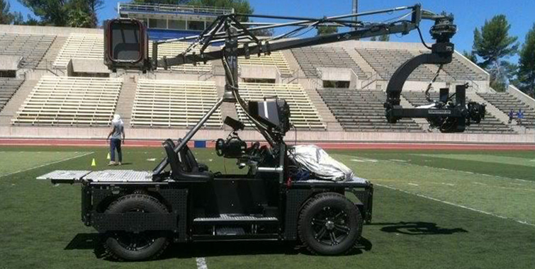 Camera Cars & Trailers - Camera Cart TC Cranes