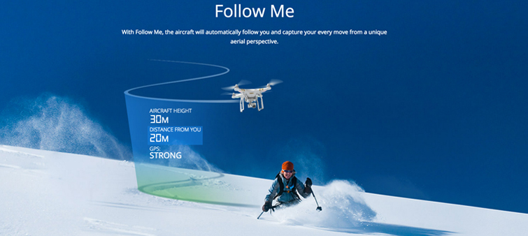 DJI Follow Me phantom