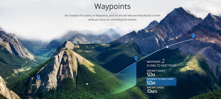 DJI Waypoints