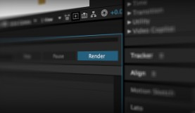 Exporting in After Effects
