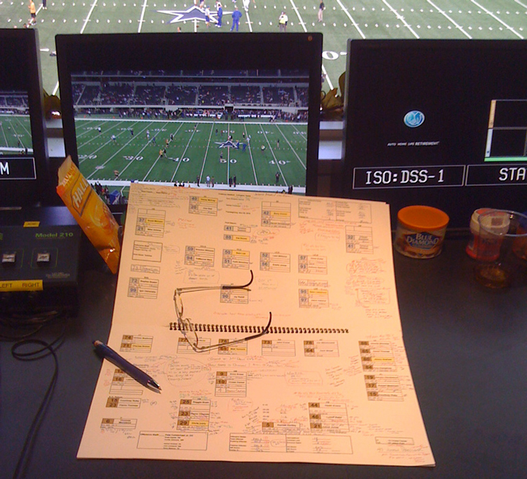 Fox Sports Cowboys Notes