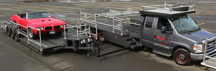 Camera Cars & Trailers - Insert Car Process Trailer Side Tow Camera Cars