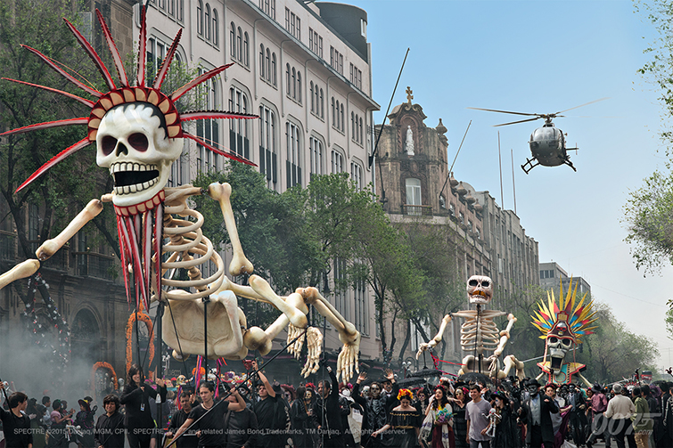Mexican Culture in Film: SPECTRE