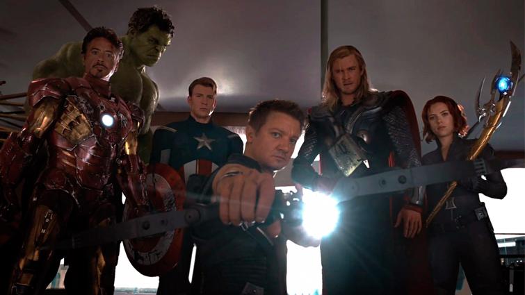 Low-Angle Shot: Avengers