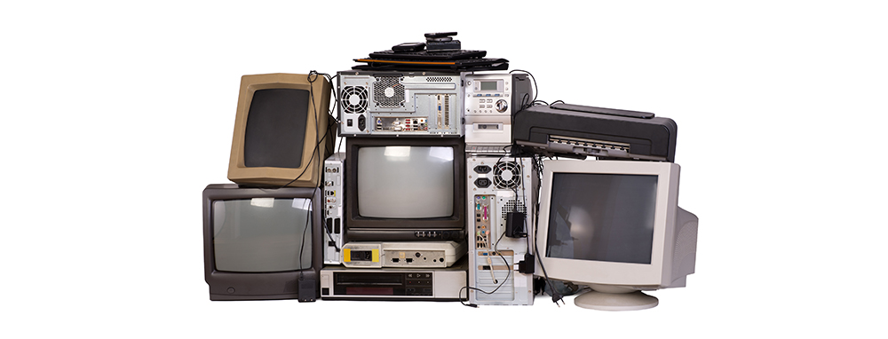 Shutterstock image of old TVs from photka