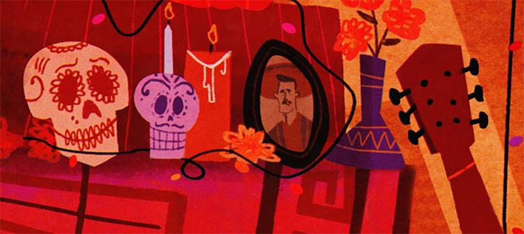 Mexican Culture in Film: Coco art