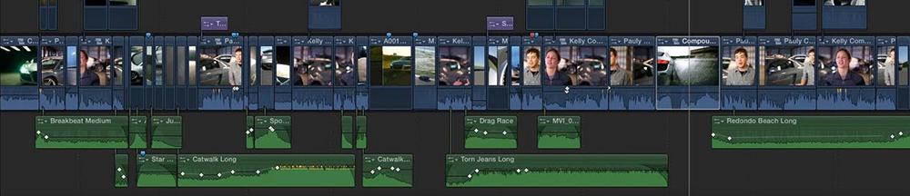 Filmmaking Flops: Final Cut Pro X Timeline