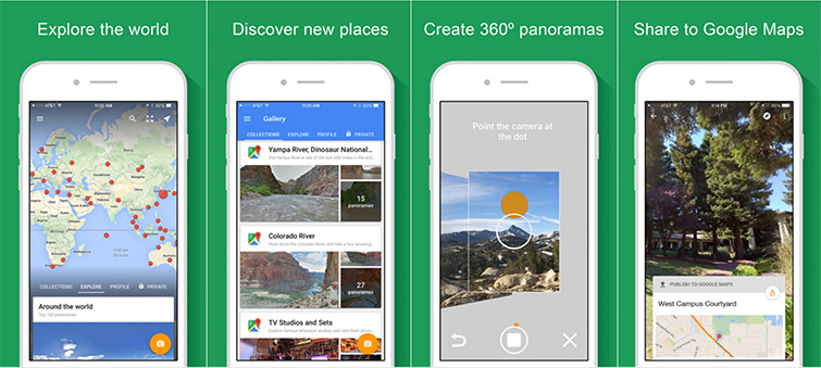 6 Filmmaking Apps for Android Users: Google Street View