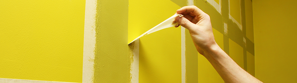 Post-Production Terms - Masking Tape Painting