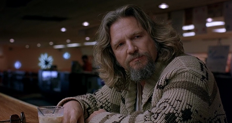 Medium Close-Up: Big Lebowski