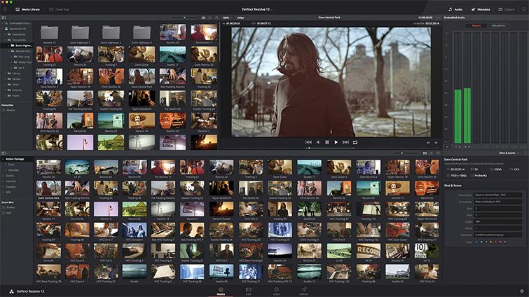 Dump Camera Footage: Resolve Media