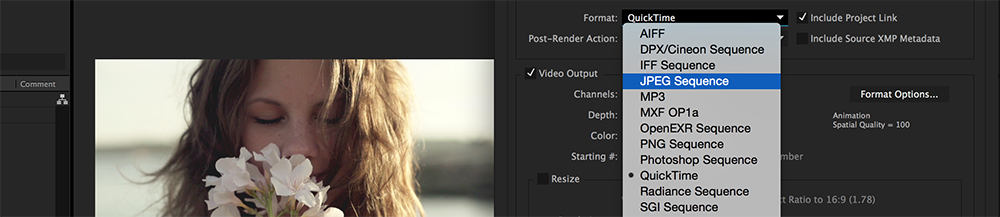 Quick Tip: Saving Stills in After Effects - Step 3