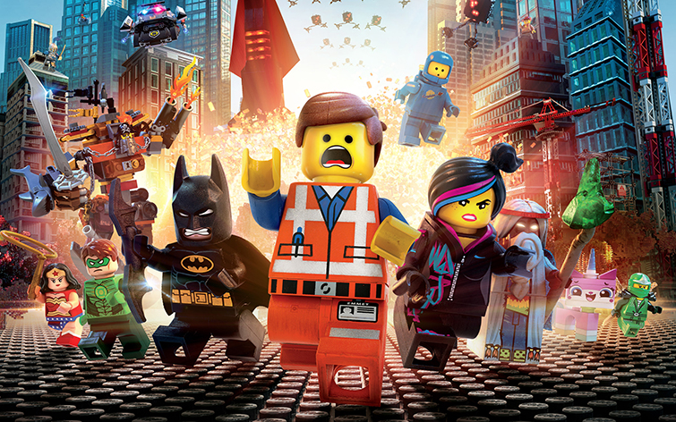 Shooting in Australia: The Lego Movie