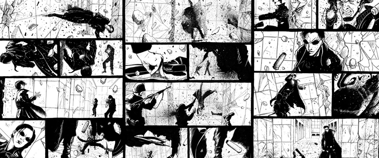 Frame Action Sequences Like a Seasoned Director: The Matrix Storyboard