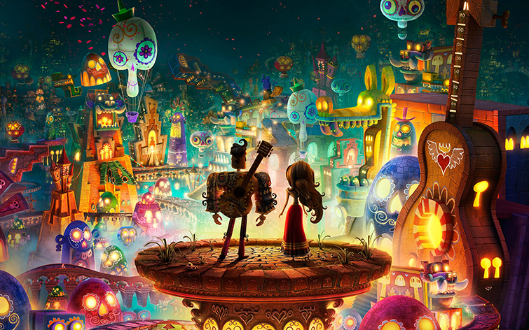 Mexican Culture in Film: scenes from Book of Life