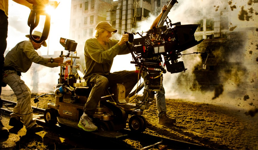 Tracking Shots Michael Bay Cover