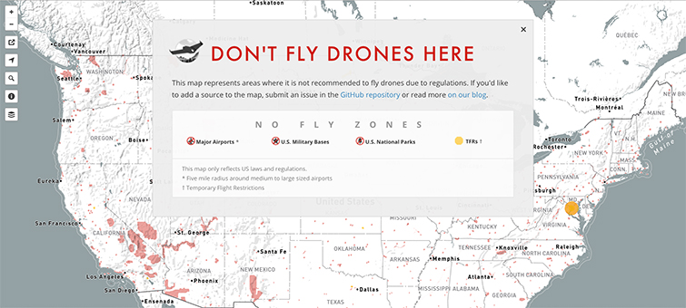 Flight School: The Beginner's Guide to Piloting Drones - No Fly Zone