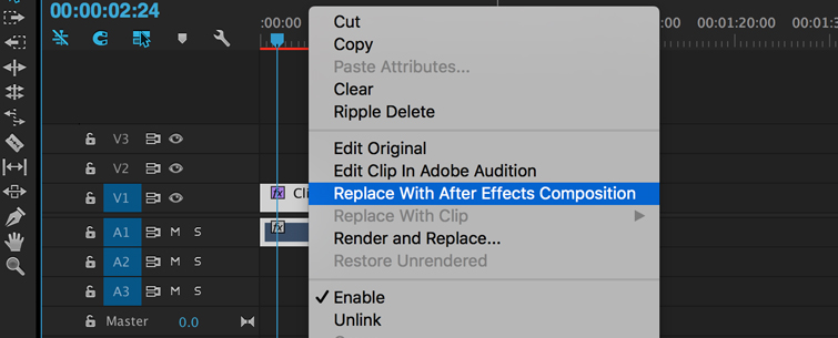 Clean up Noisy Video in Premiere Pro, Step 1.