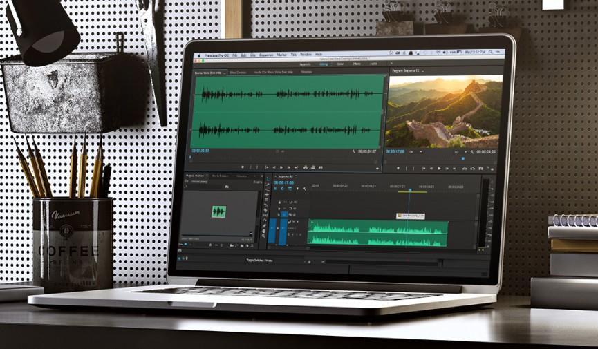 Premiere Pro Audio Editing Cover