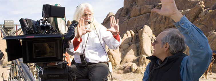 Cinematography: Robert Richardson Framing